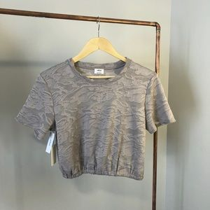 Wilfred cropped crew-neck t-shirt.